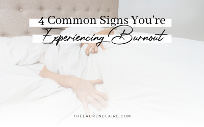 4 Common Signs You're Experiencing Burnout