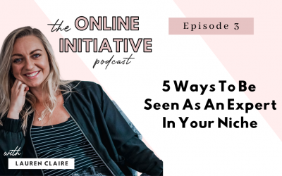 5 Ways To Be Seen As An Expert In Your Niche