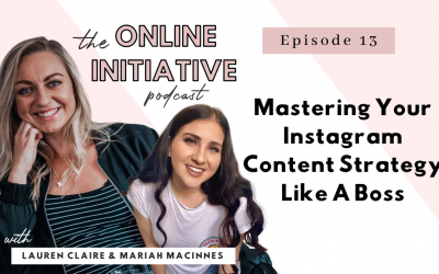 Master Your Instagram Content Strategy With Mariah Macinnes